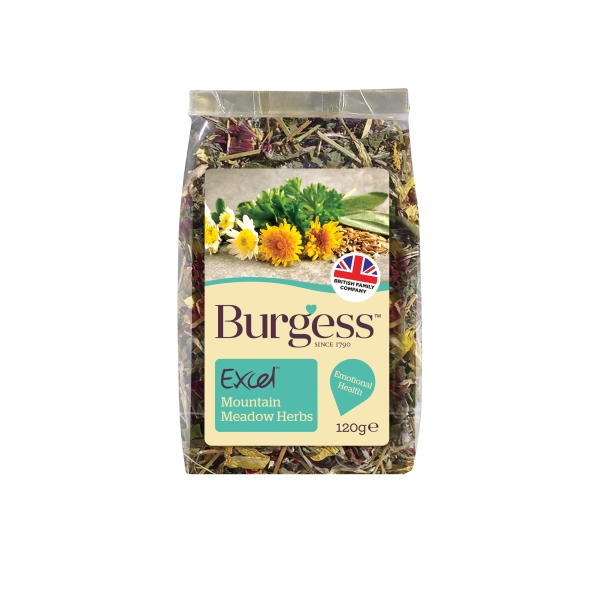 Excel Mountain Meadow Herbs 120g