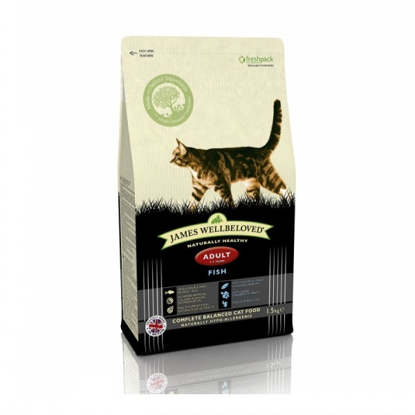 James Wellbeloved Fish Dry Food 1.5kg