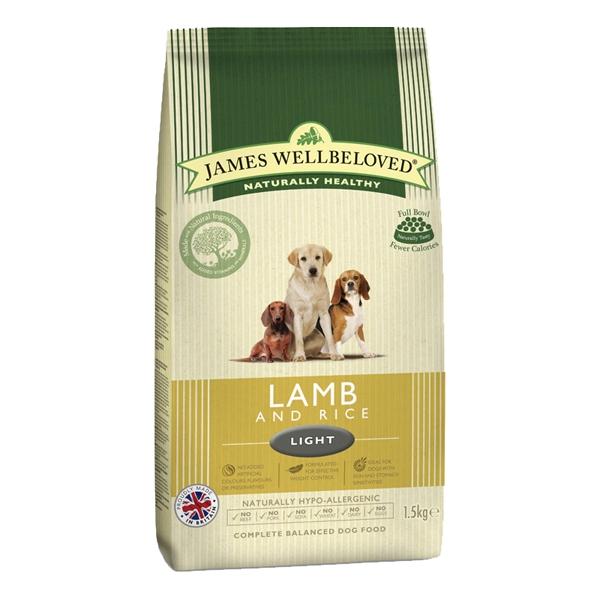 James Wellbeloved Light Dog Food Kg