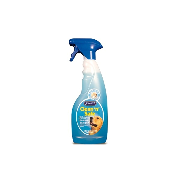 Johnsons Clean n Safe Disinfectant Spray