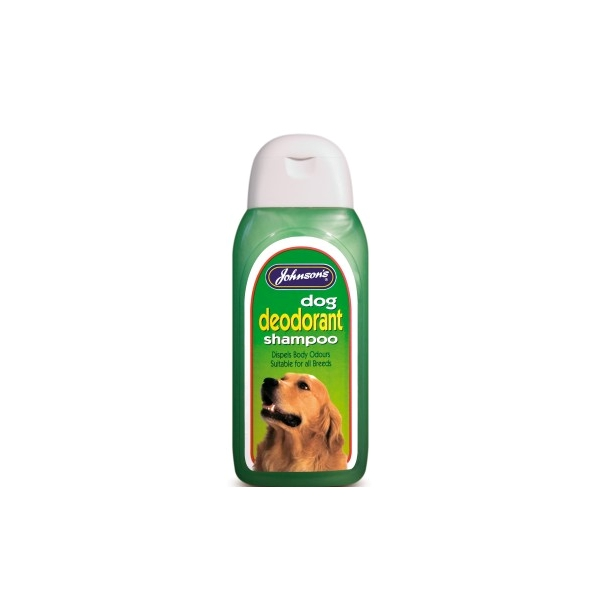 Johnsons Deodorant Dog Shampoo
