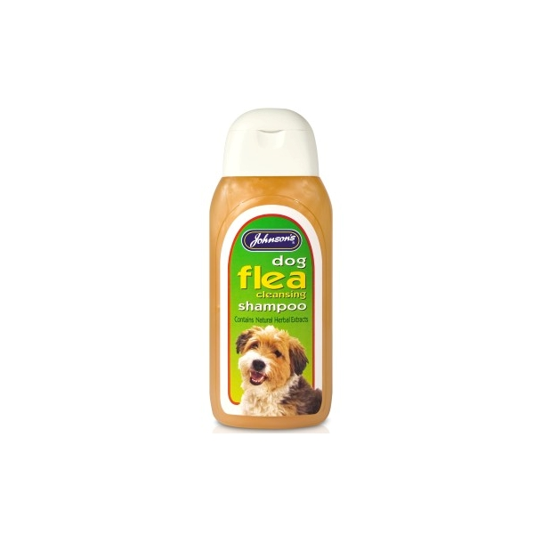 Johnsons Flea Cleansing Dog Shampoo