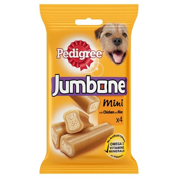 Pedigree Jumbone Mini Chicken Chews - 4pk