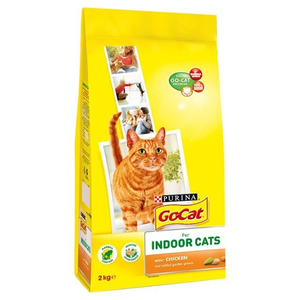Go-Cat Indoor Dry Food 2kg