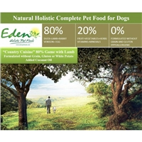 Eden Medium Kibble Country Cuisine Dry Food 15kg
