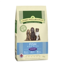 James Wellbeloved Senior Fish & Rice Dry Food 2kg