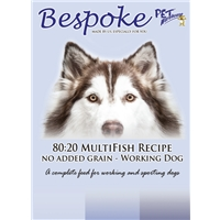 Bespoke 8020 Multi Fish Dog Food 15KG