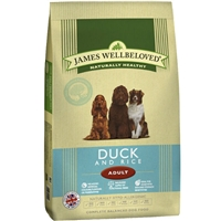 James Wellbeloved Duck & Rice Dry Food 2kg