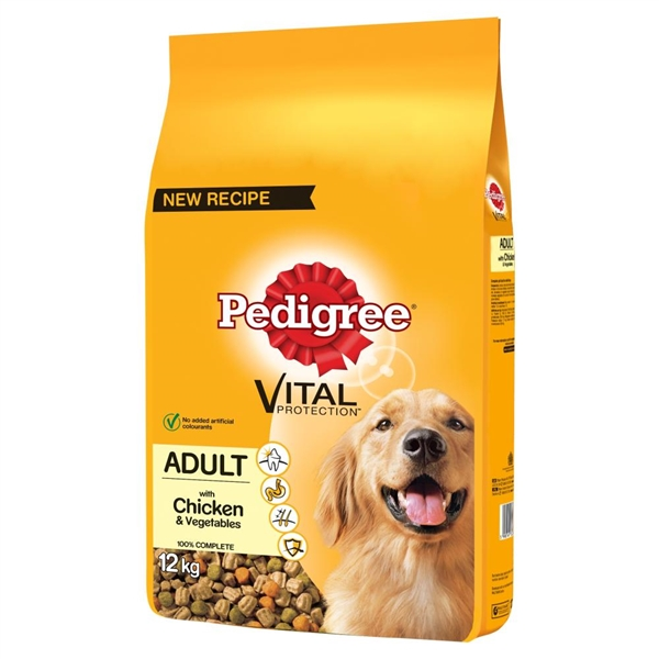 Pedigree Adult Chicken Complete 12kg