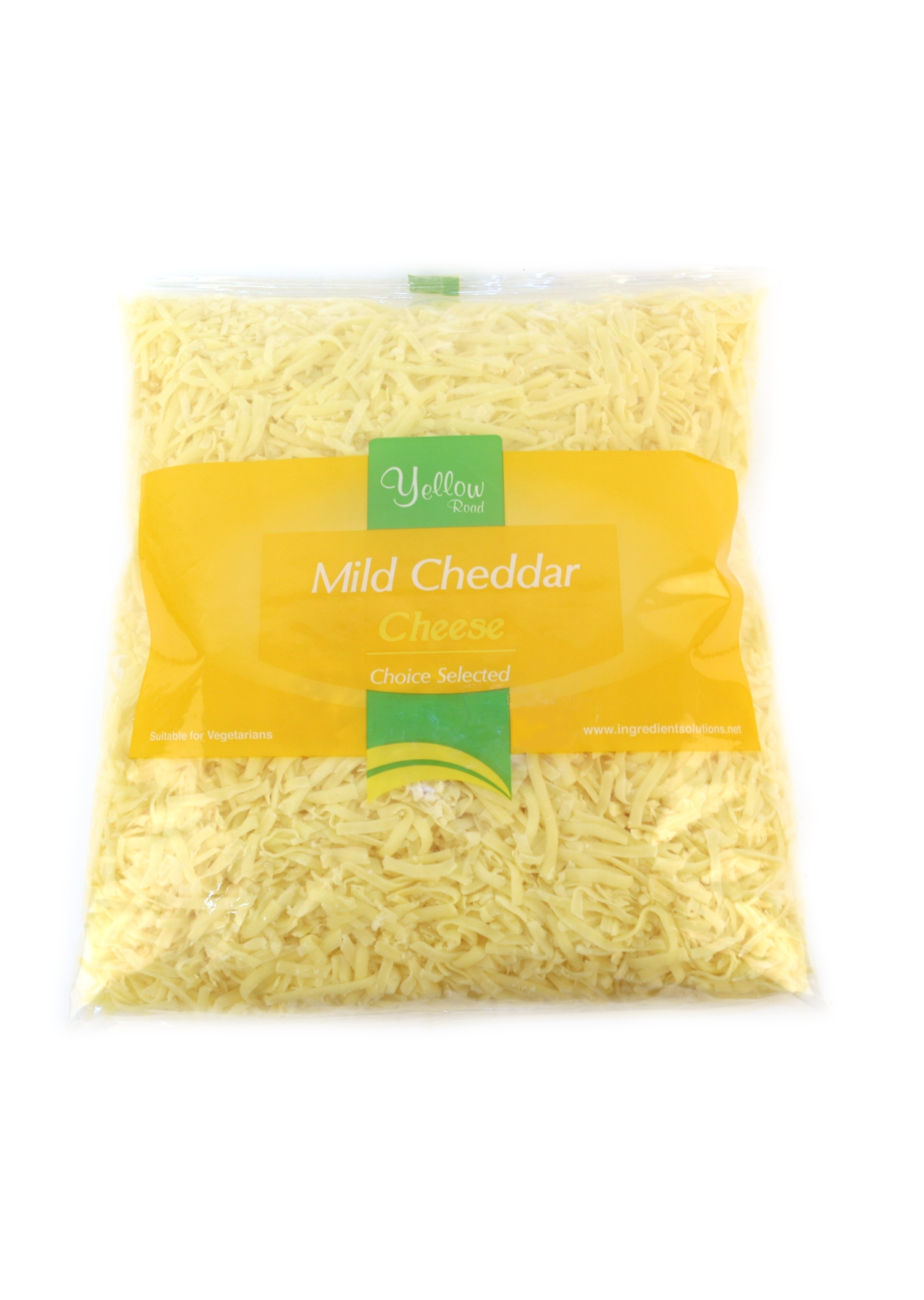 Grated Cheddar White 2kg