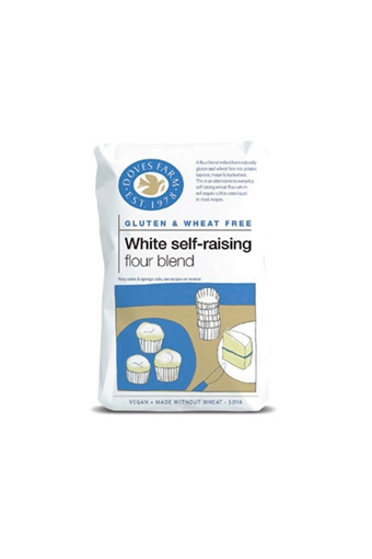 Self Raising Flour, Doves Farm, 5x 1kg bag.