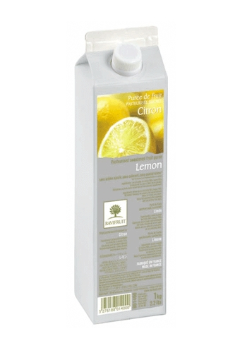 Lemon Pasteurized Fruit Puree, Ravifruit, 1kg