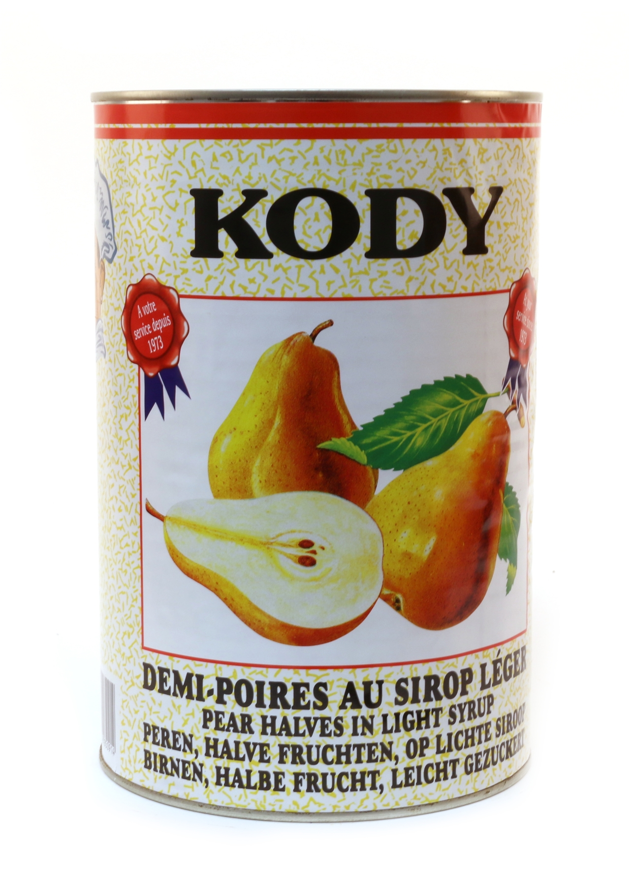 Pears in Light Syrup Kody 4.15kg