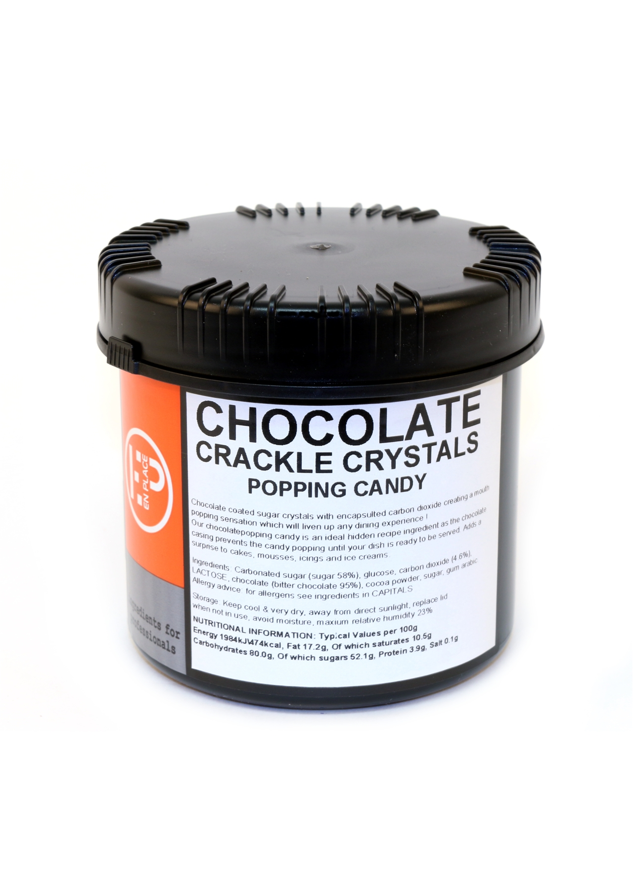 Chocolate Crackle Cystals Carbonated 500g
