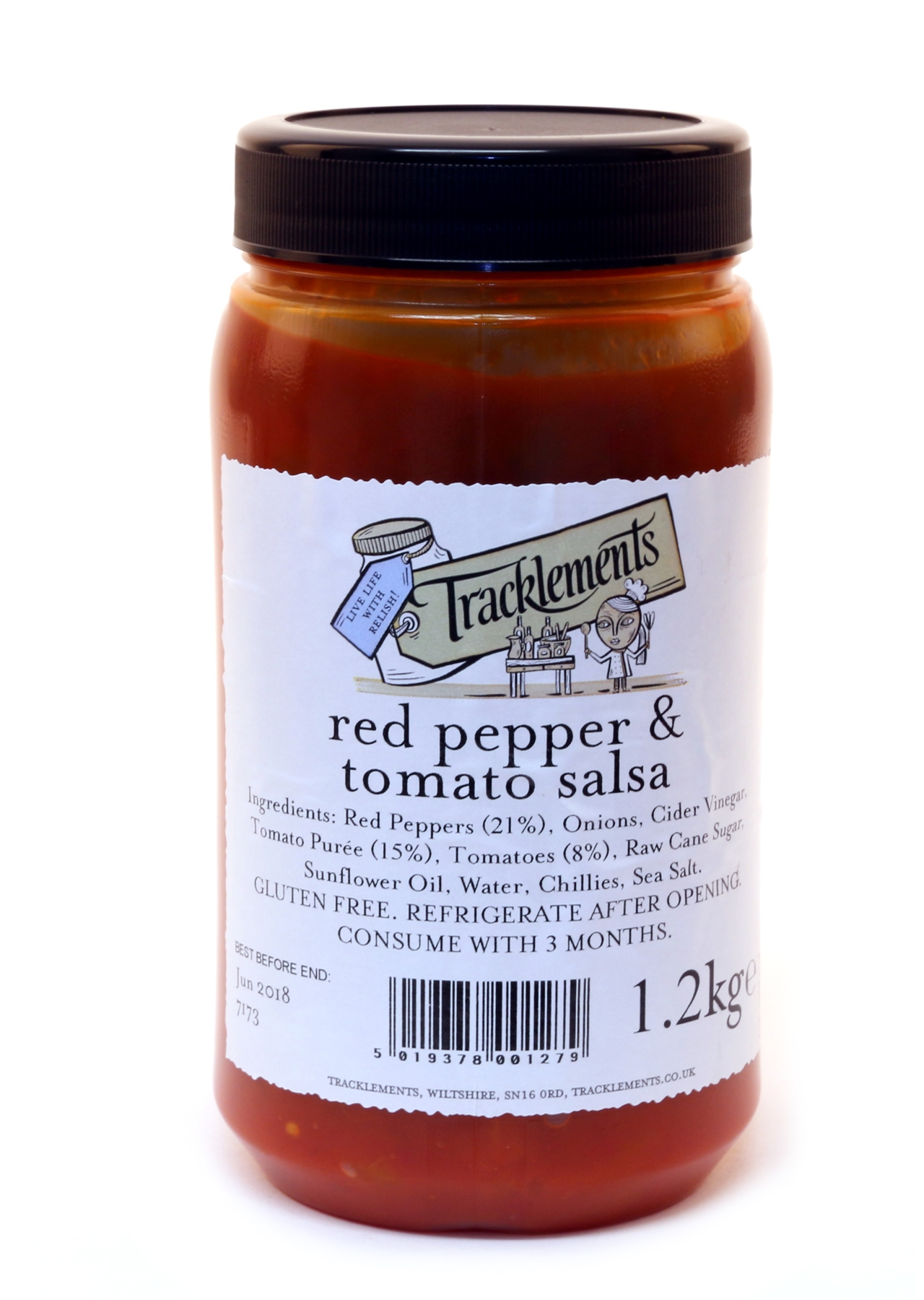 Red Pepper and Tomato Salsa  2 x 1.5kg