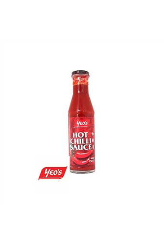 Hot Chilli Sauce, Yeos, 12 x 300ml