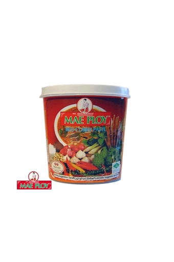 Red Curry Paste, Mae ploy, 400g