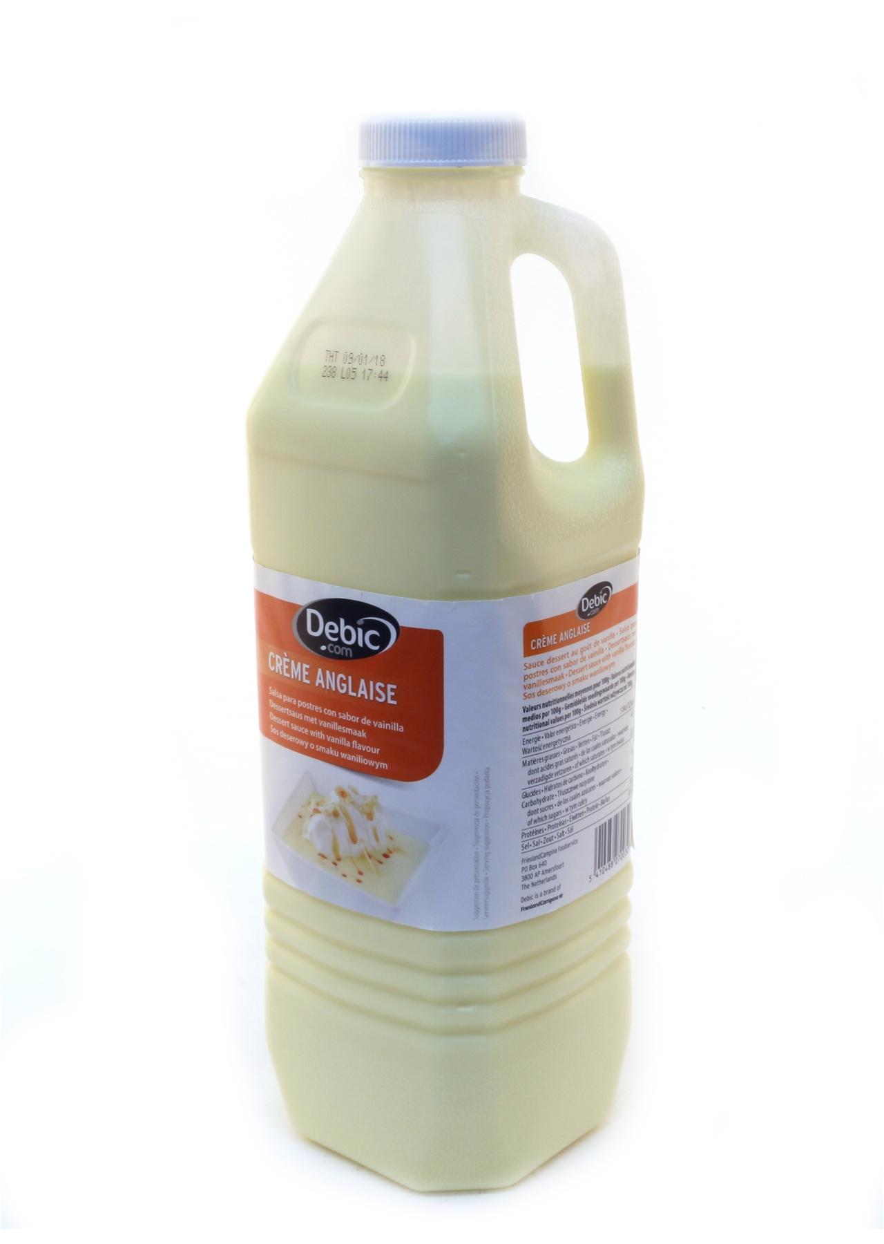 Creme Anglaise Debic | 2lt | BD Foods wholesale food company | BD Foods