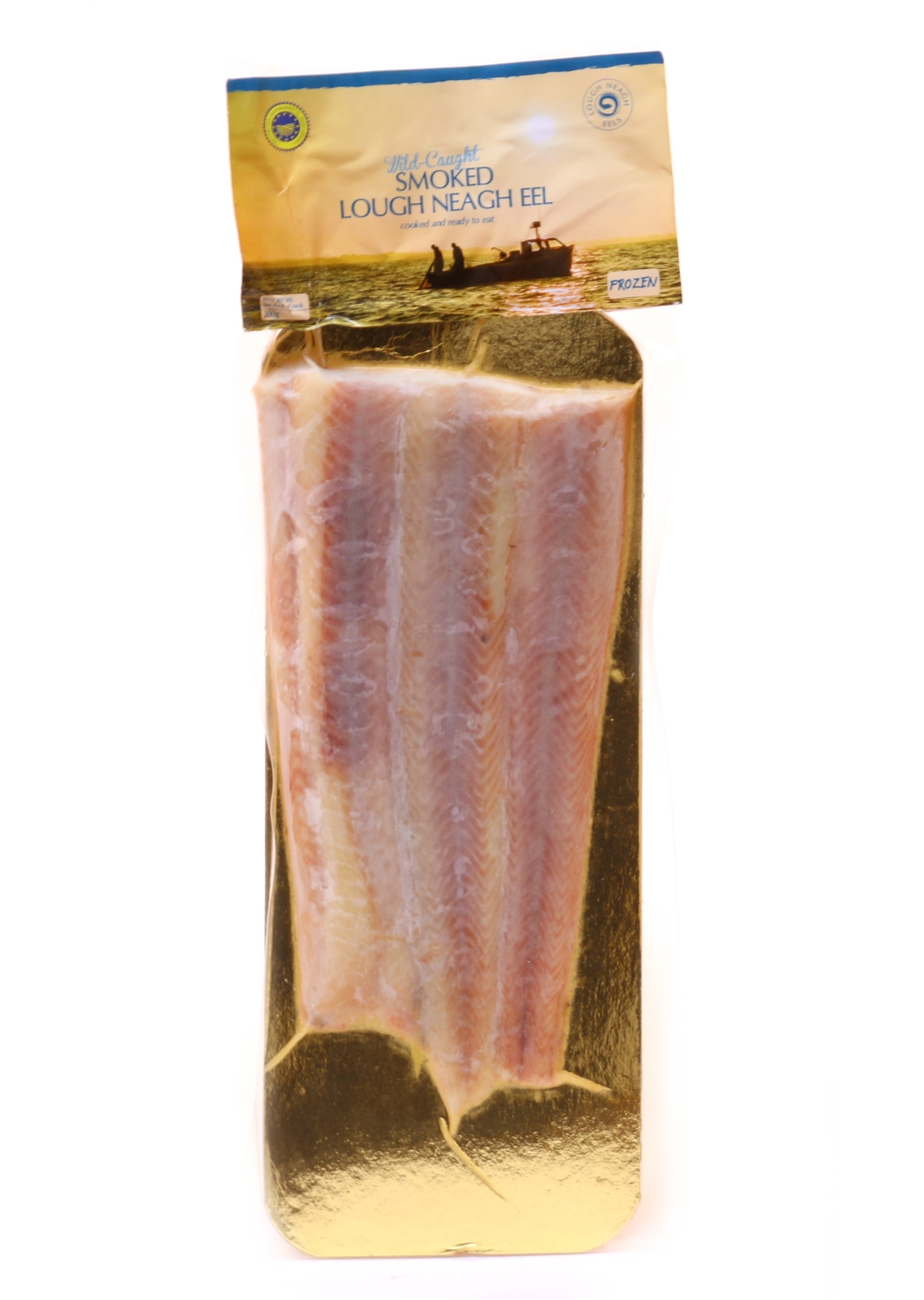 Lough Neagh Smoked Eel 200g.
