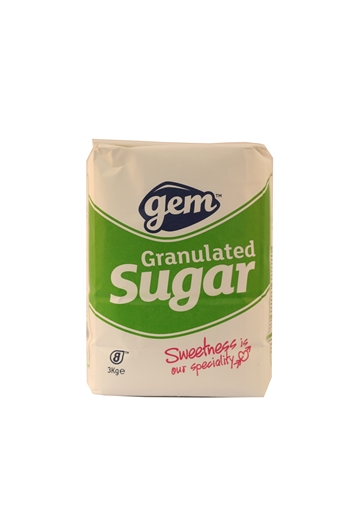 Granulated Sugar, Gem, 3kg