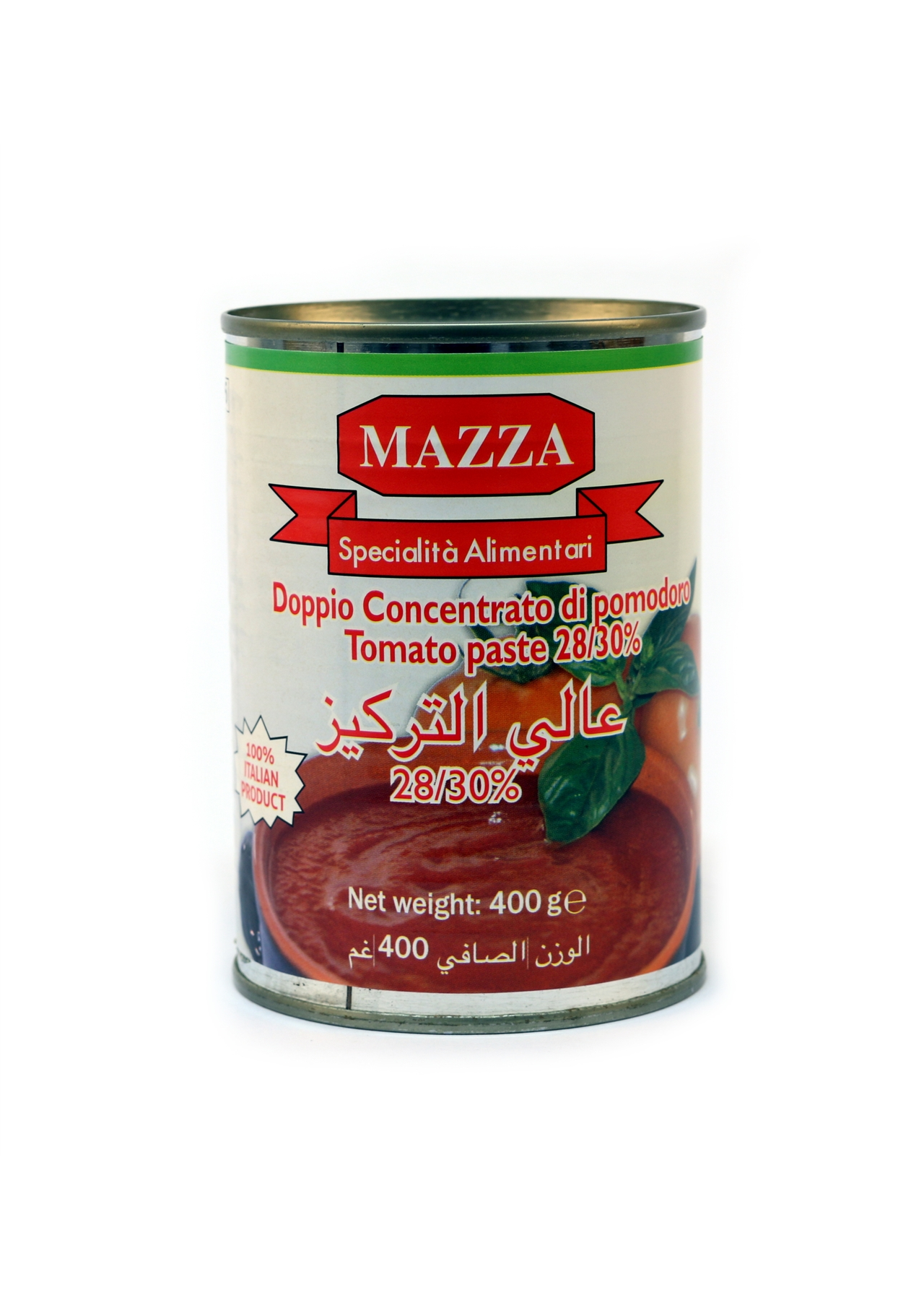 Mazza Double Concentrate Tomato Paste 24x400g