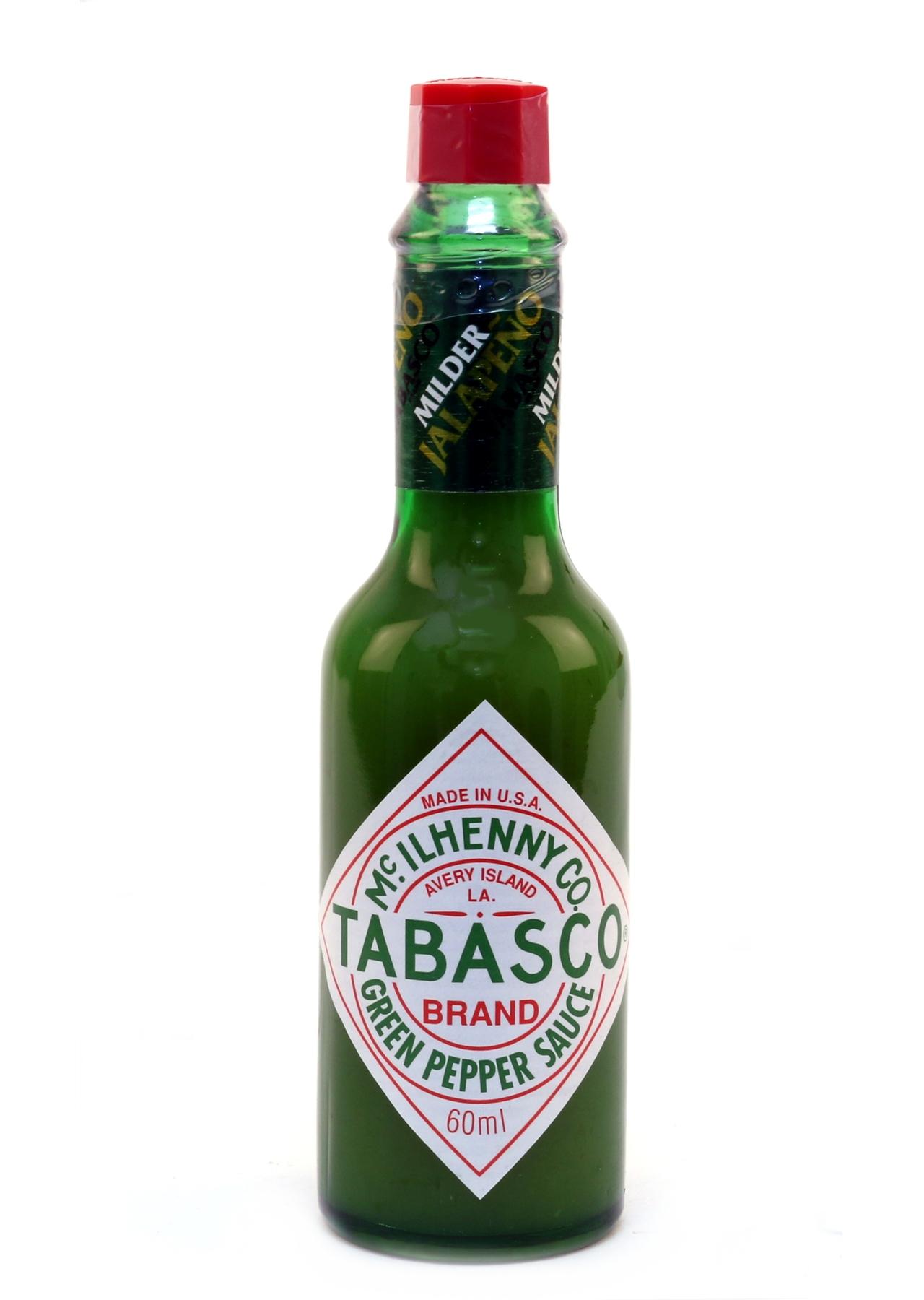 Tabasco Green Pepper Sauce Mild 60ml McIlhenny | BD Foods