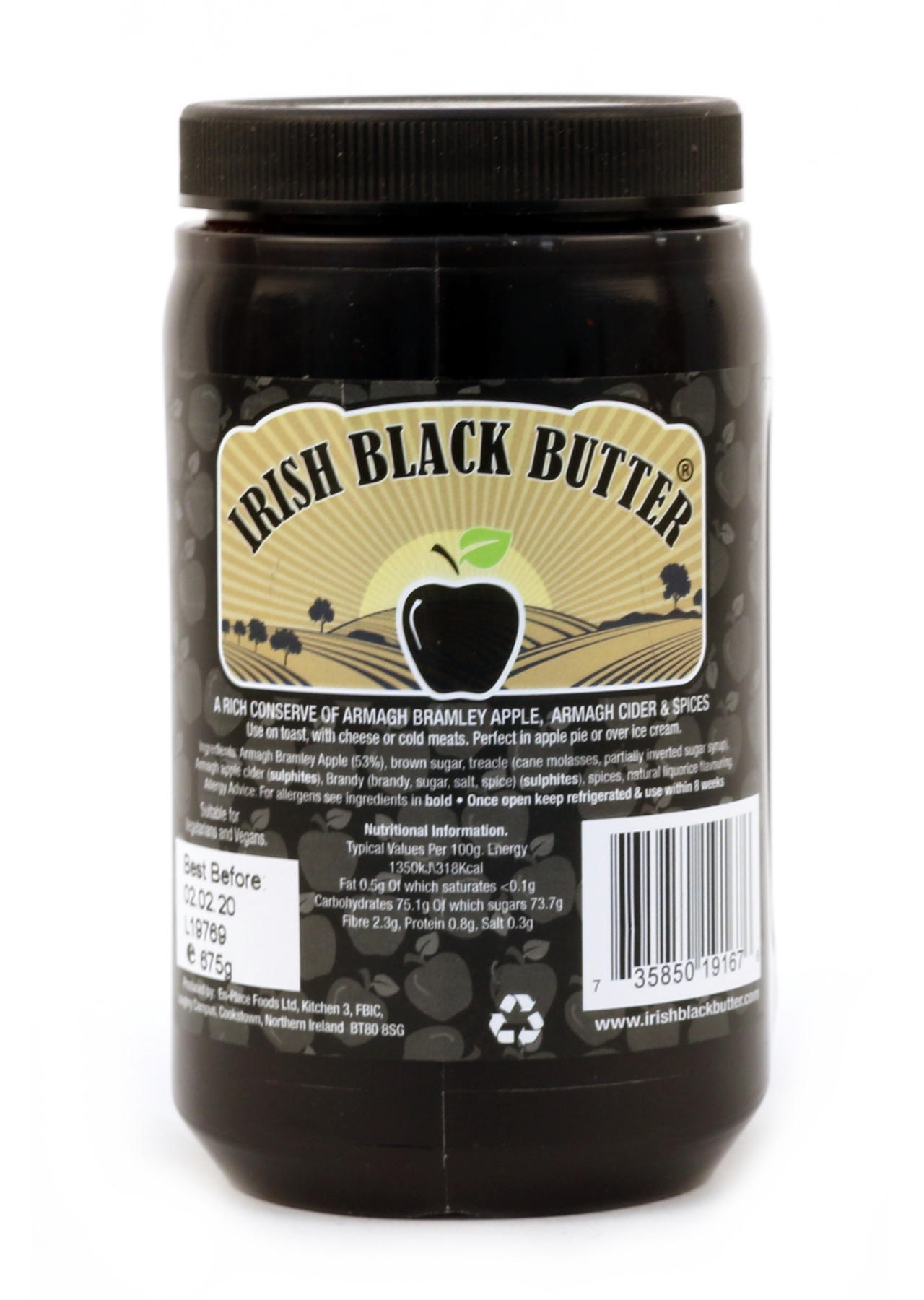 Irish Black Butter 675g