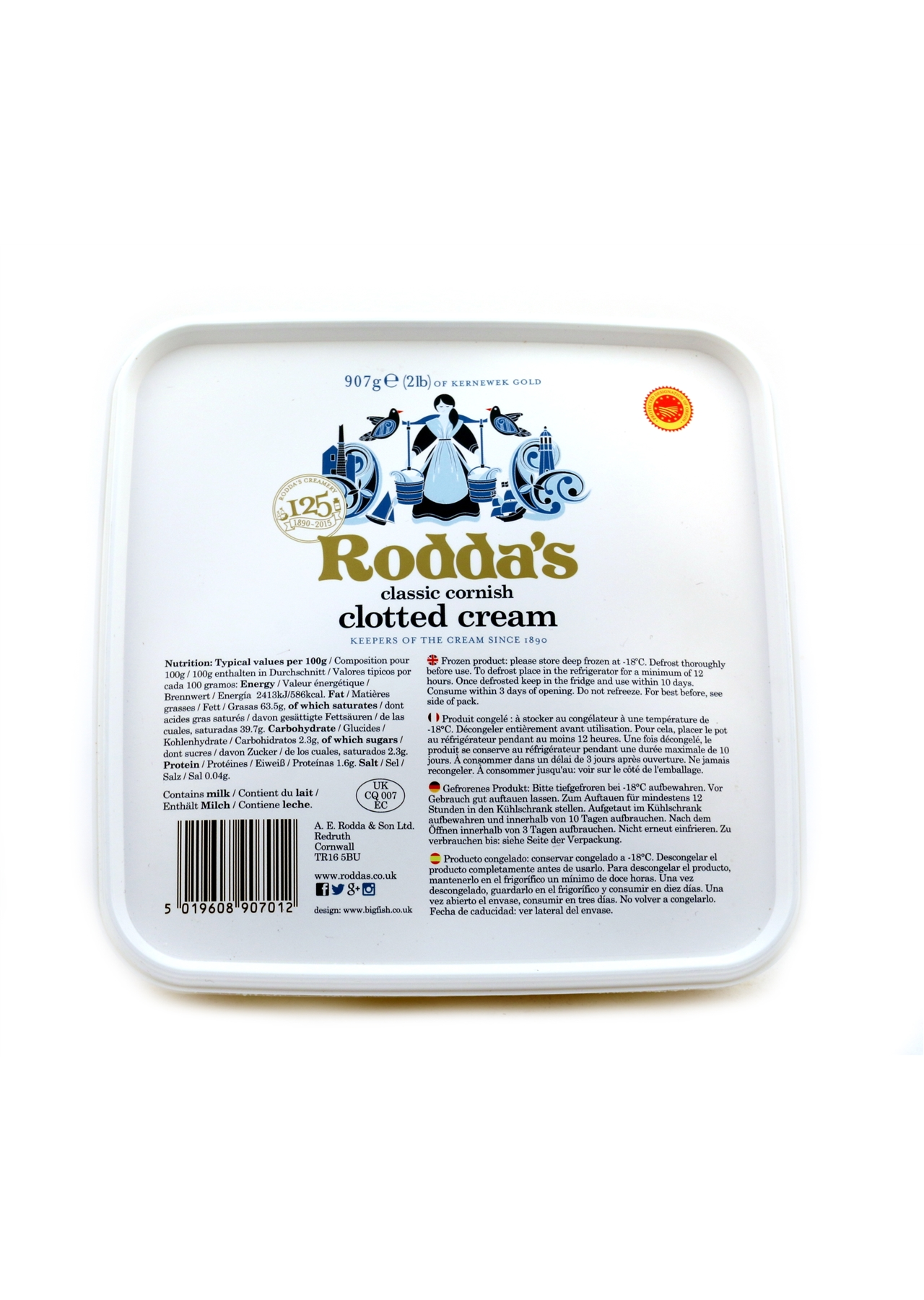Rodda's Cornish Clotted Cream 907g