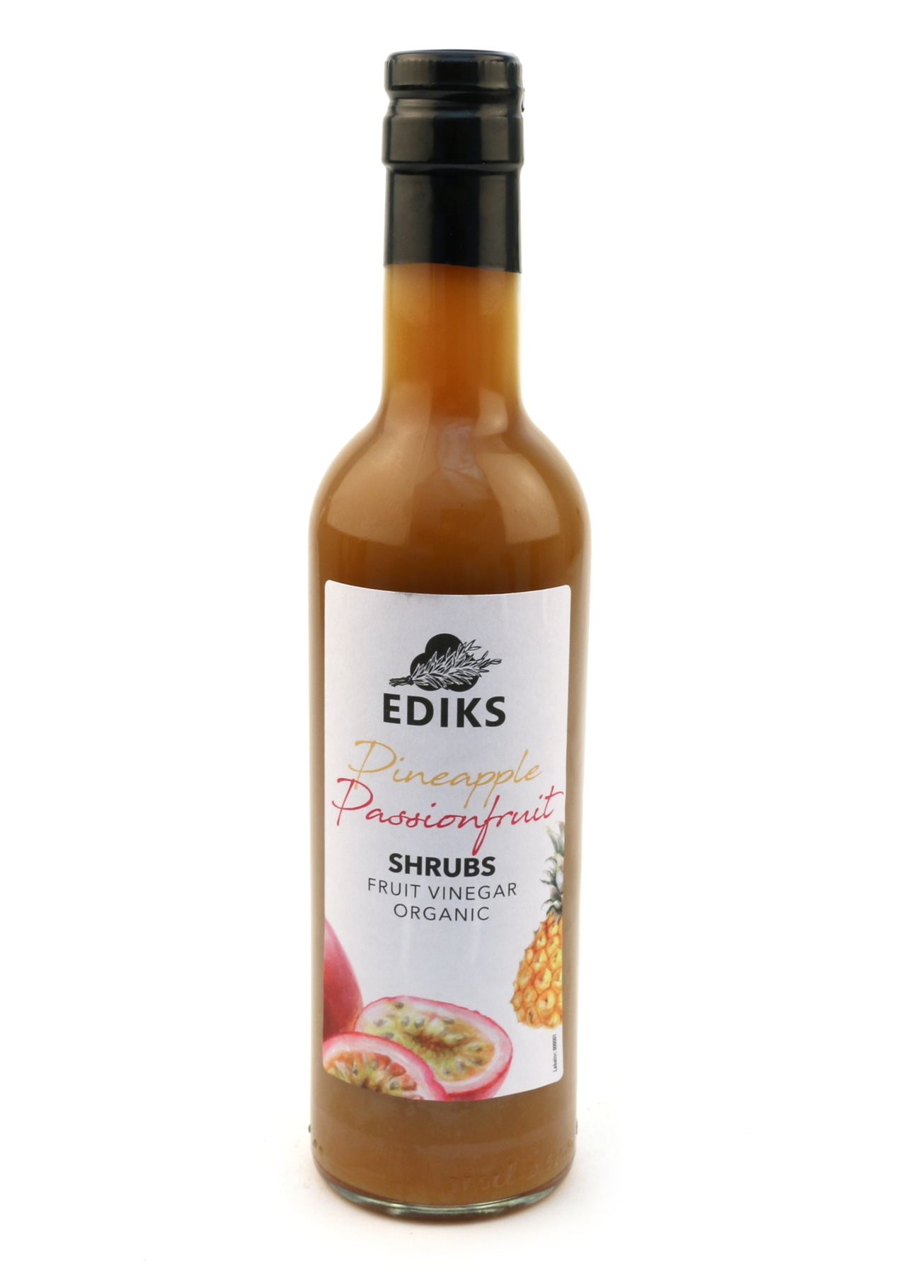 Ediks Organic Pineapple & Passionfruit Shrub Vinegar 375ml
