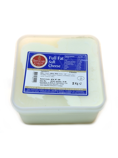 Cream Cheese Full Fat 2kg
