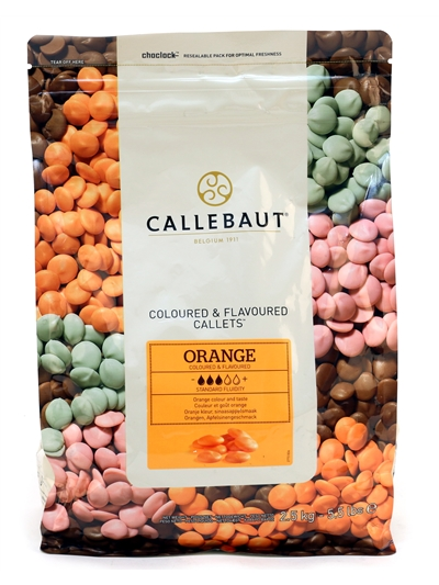 Orange Flavoured & Coloured Drops 2.5kg