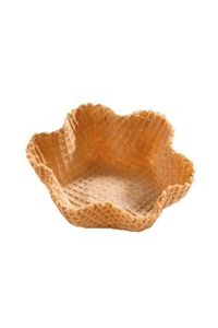 Wafer Baskets Large Neutral 36 pieces