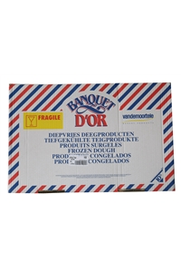 Puff Pastry BO1 Banquet D'or, 16 sheets,10kg