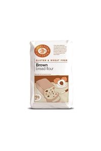 Brown Bread Flour, Doves Farm, 5x 1kg bag