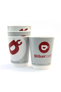 Dibarcafé Double Wall Cups X 500
