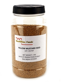 Yellow Mustard Seeds 1kg