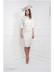 White Gold Dress and Suit Jacket 25971