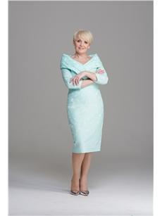 Anoola mint green off shoulder dress