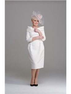 Pale cream Mother of the Bride Knee-length dress