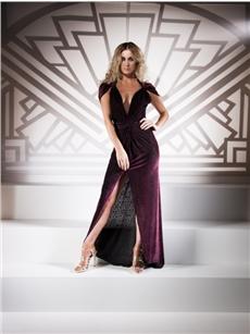 Anais Bergere Velvet Ball Dress