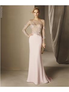 Baeza Mermaid Cocktail Dress