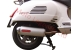 Granturismo 125 Exhaust - oval full system 2003-20
