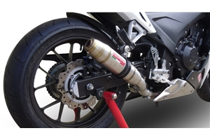 CBR500R Exhaust - Thunder Deeptone Stainless