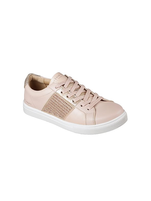 Light Bandit Of 73493 Pink Skechers Wallace's Moda Trainer Bling qfxBSw7
