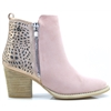48928 - XTI PINK ANKLE BOOTS