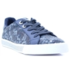 FLMGG1 DEN12 - GUESS DENIM BLUE FLORAL TRAINERS