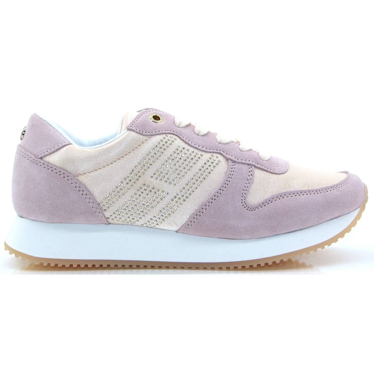 5b9221cdd414 Sparkle Satin City Sneaker - Tommy Hilfiger LIGHT PINK TRAINERS. Tap to  expand