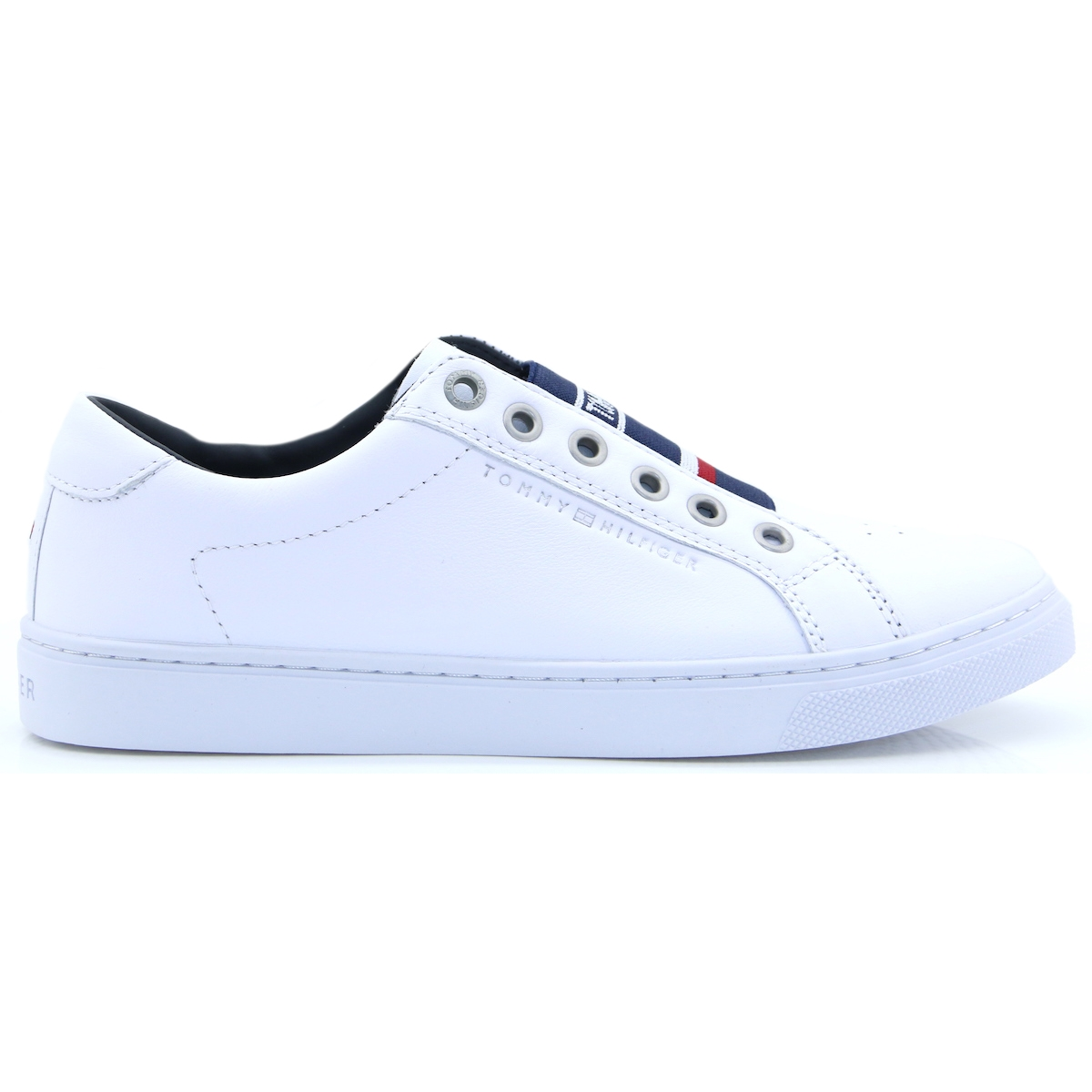 d4d03fa52 Elastic City Sneaker - Tommy Hilfiger WHITE SLIP ON TRAINERS. Tap to expand