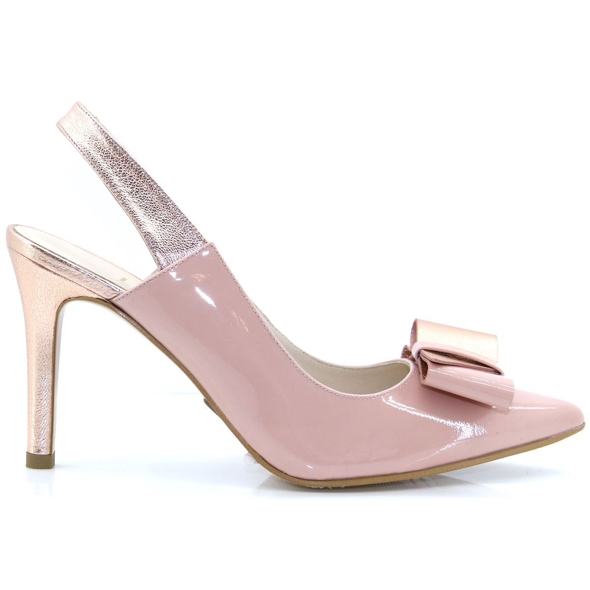 0bd7f8dc11 Radka - LODI NUDE AND ROSE GOLD OCCASION HEELS - Panache Shoe Company