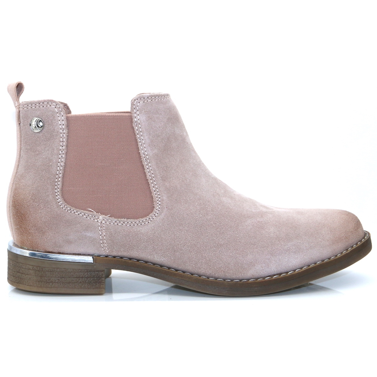 buy popular 6ad02 0bcdc 25345-33 - S.OLIVER PALE PINK CHELSEA BOOTS